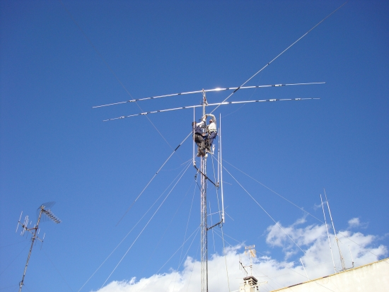 Mis nuevos cambios en la instalación de las antenas 2010-02-16
